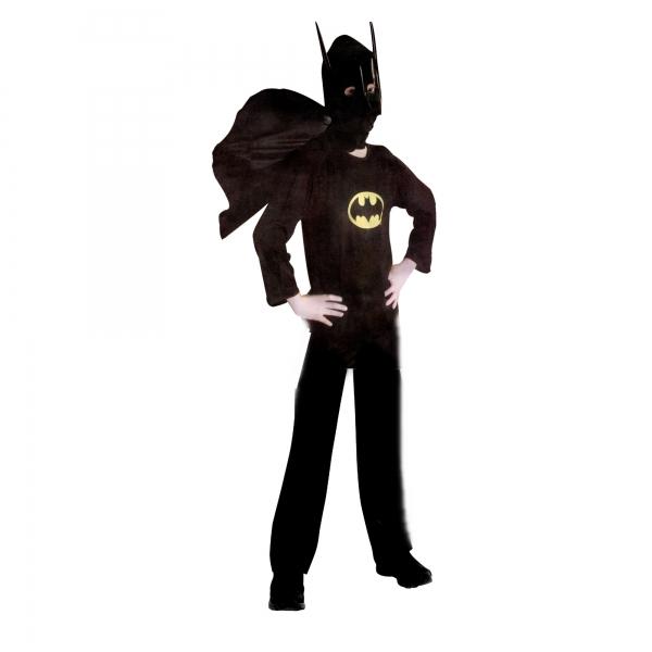 Costum Batman pentru copii, marime L pentru 7 - 9 ani 0