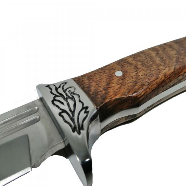 Cutit de vanatoare, Celtic Blade, 36 cm, argintiu 4