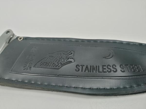 Cutit de vanatoare, Steel Wolf, 31 cm, argintiu 5