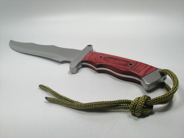 Cutit de vanatoare, Steel Wolf, 31 cm, argintiu 3