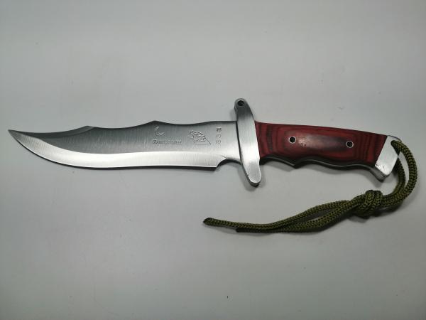 Cutit de vanatoare, Steel Wolf, 31 cm, argintiu 1
