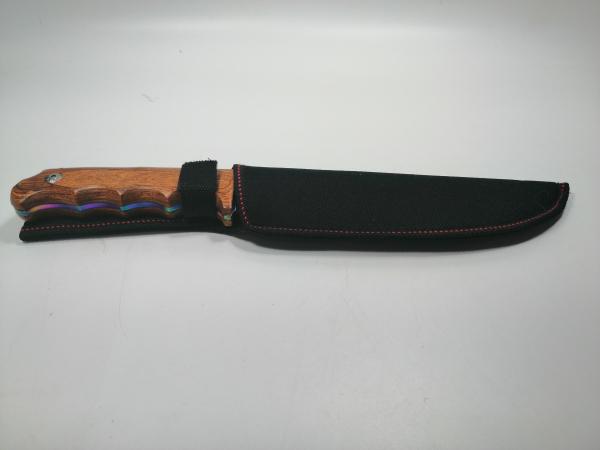 Cutit de vanatoare, Wood Rainbow, 33 cm, multicolor [5]