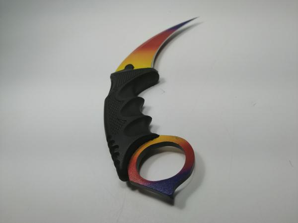 Cutit Karambit, tricolor 18.5 cm 1