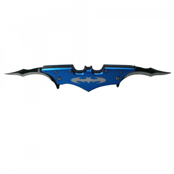 Briceag-cutit, doua taisuri, classic Batman Style, prindere curea, 27 cm 0