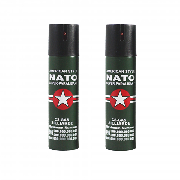 Set 2 sprayuri paralizante, NATO, 60 ml 0
