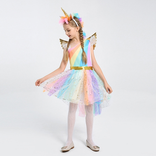 Costum My Little Pony Unicorn, marimea M, 120 cm 0