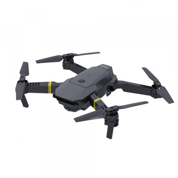 Drona micro pliabila, camera 720p, wi-fi, 2.4 gHz, neagra 0