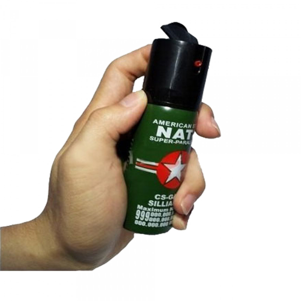 Spray paralizant NATO, propulsie jet, 60 ml 1