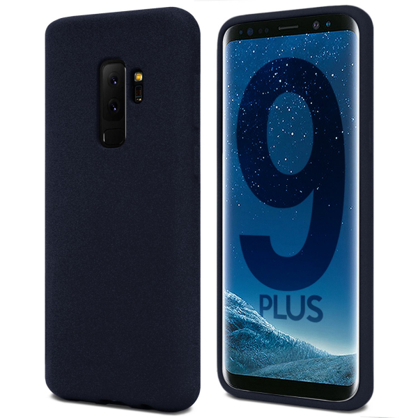 Husa pentru Samsung Galaxy S9 Plus, Blue Slim, Liquid Silicone 0