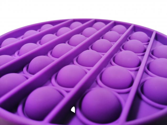 Jucarie antistres, Pop it, silicon, 13 cm [2]
