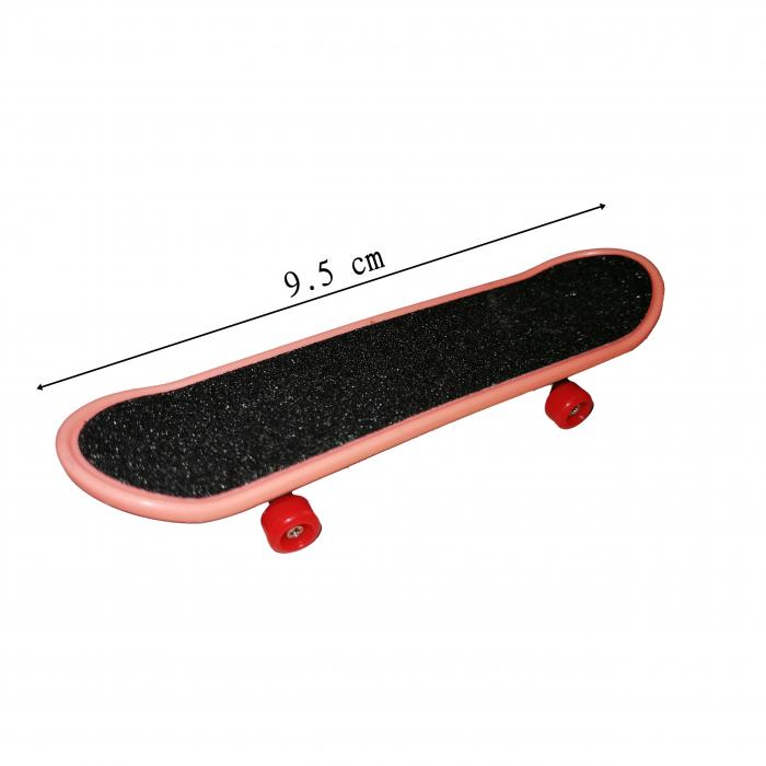 Mini Skateboard, Fingerboard Extreme, 9.5 cm, negru [4]