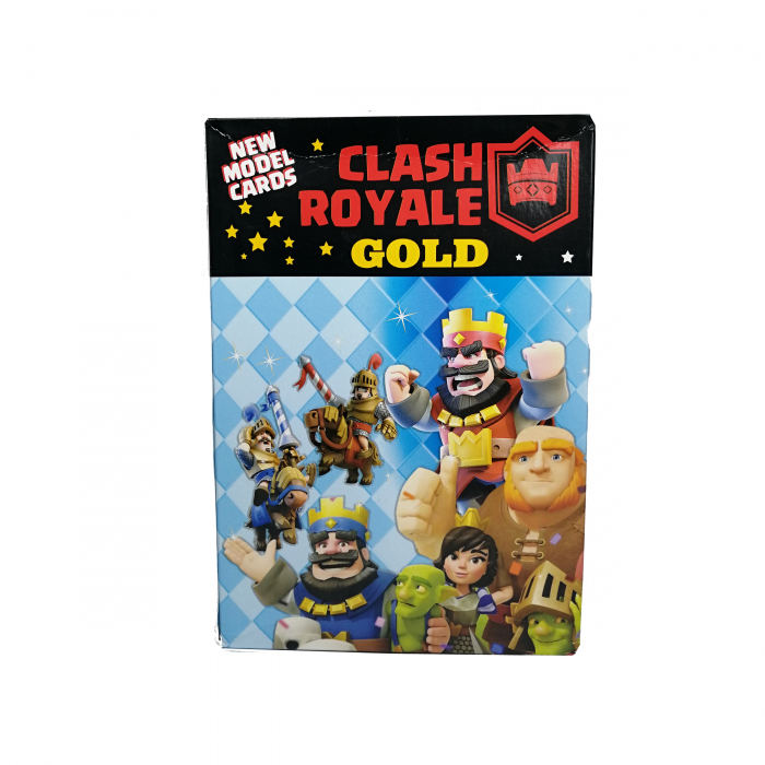 Set 200 de cartonase Clash Royale, cartonate, multicolor seria 6 [0]