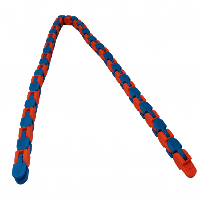 Jucarie antistres, Sensorial Snake, multicolor, 54 cm [2]