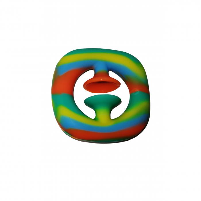 Jucarie antistres senzoriala, cauciuc, 6 cm, multicolor [1]