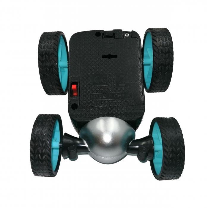 Masinuta pentru cascadorii cu telecomanda, 360 Demon, 12 cm [5]