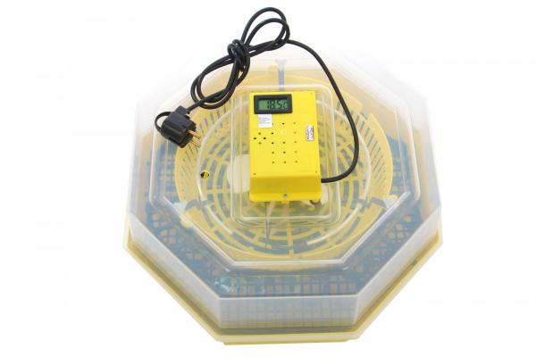 Incubator electric pentru oua cu dispozitiv intoarcere si termometru, Cleo, model 5DT 1