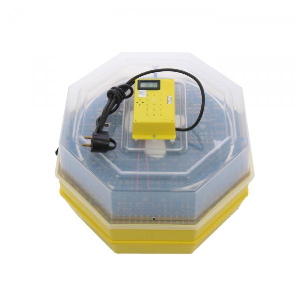 Incubator electric pentru oua cu dispozitiv dublu de intoarceresi termometru, Cleo, model 5X2-DT 0