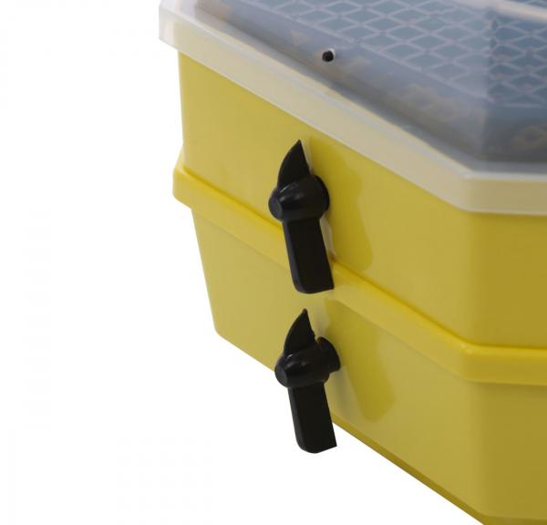 Incubator electric pentru oua cu dispozitiv dublu de intoarceresi termometru, Cleo, model 5X2-DT 4