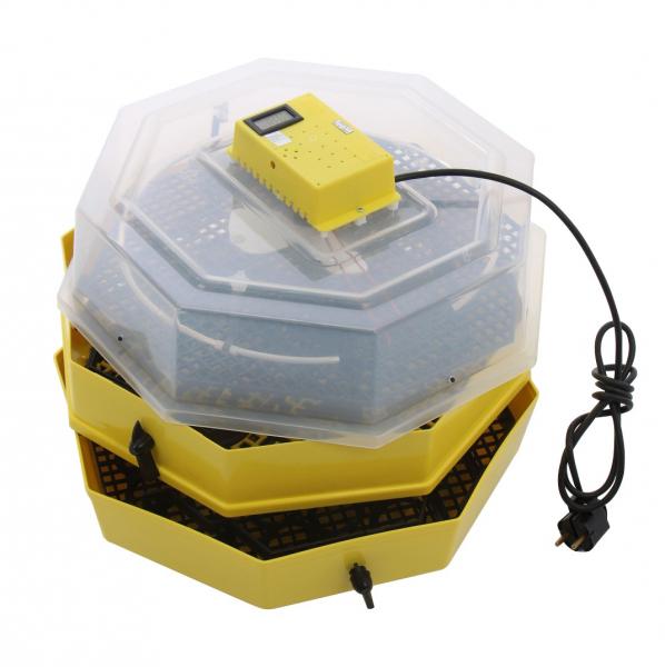 Incubator electric pentru oua cu dispozitiv dublu de intoarceresi termometru, Cleo, model 5X2-DT 2
