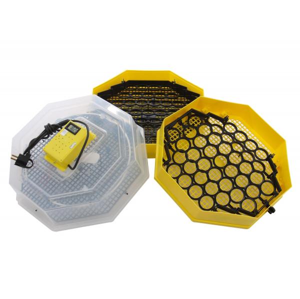 Incubator electric pentru oua cu dispozitiv dublu de intoarceresi termometru, Cleo, model 5X2-DT 3
