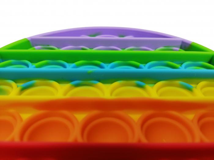 Jucarie antistres, Pop it, silicon, 13 cm [14]