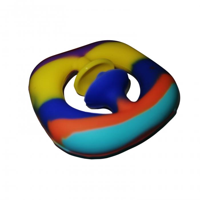 Jucarie antistres senzoriala, cauciuc, 6 cm, multicolor [9]