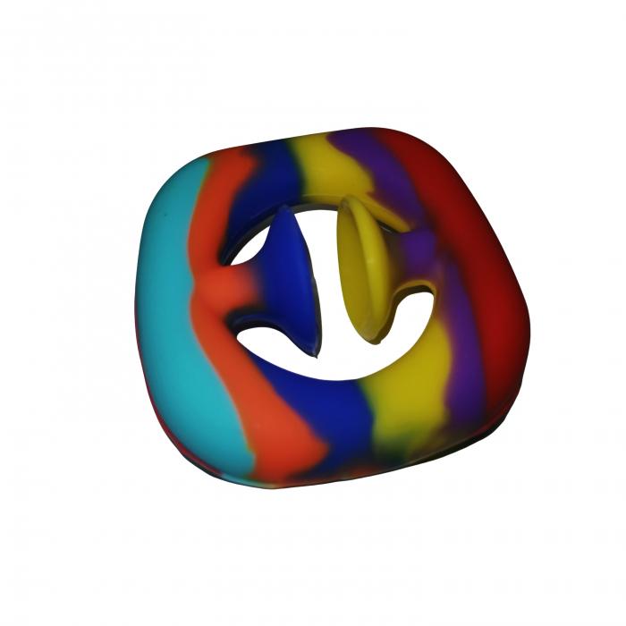 Jucarie antistres senzoriala, cauciuc, 6 cm, multicolor [8]