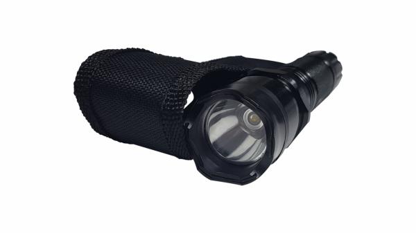 Lanterna cu electrosoc cu acumulator, LED, baston Police inclus 4