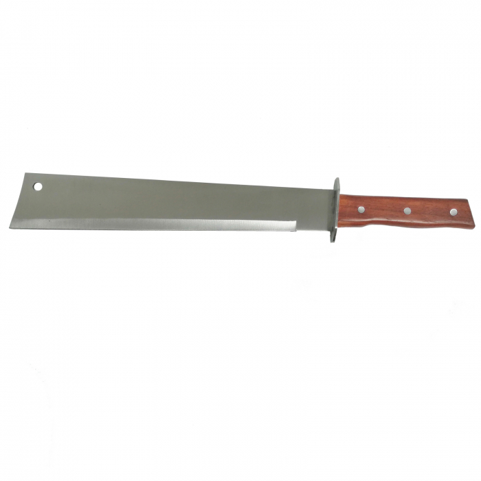 Maceta, otel inoxidabil, argintiu, Wood Blade, 70 cm [1]