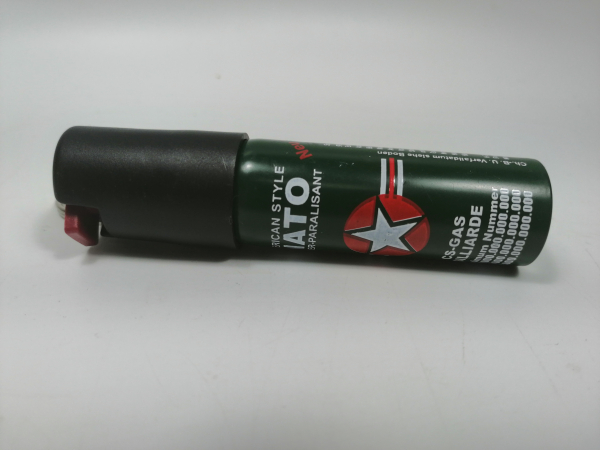 Mini-Spray paralizant NATO, tip breloc, propulsie jet, 20 ml 3