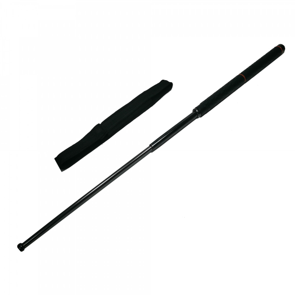 Baston telescopic cromatic, Two Handles, 106 cm, negru 0