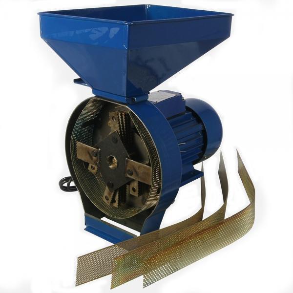 Moara cereale, uruitor cu ciocanele GOSPODARU, albastra 1