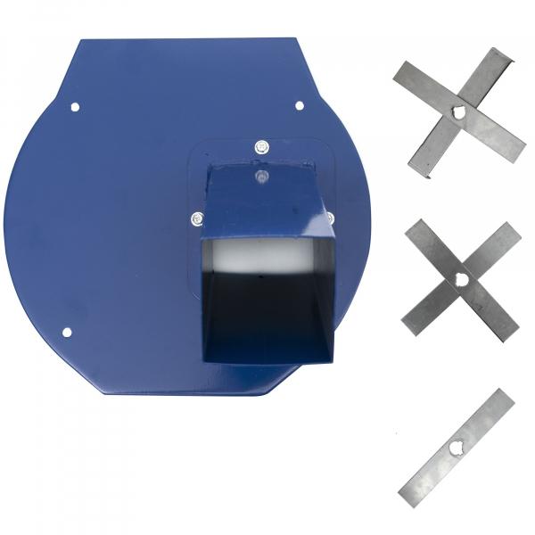 Moara Electrica ProCraft, 3.5 kW, 3000 rpm, 3 site interschimbabile, dispozitiv pentru maruntirea tulpinilor cadou 5