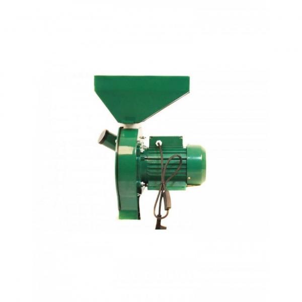 Moara Micul Meserias, 3.8 kW, 3000 rpm, cuva mare, 5.2A, 200-500 kg/h, verde 2