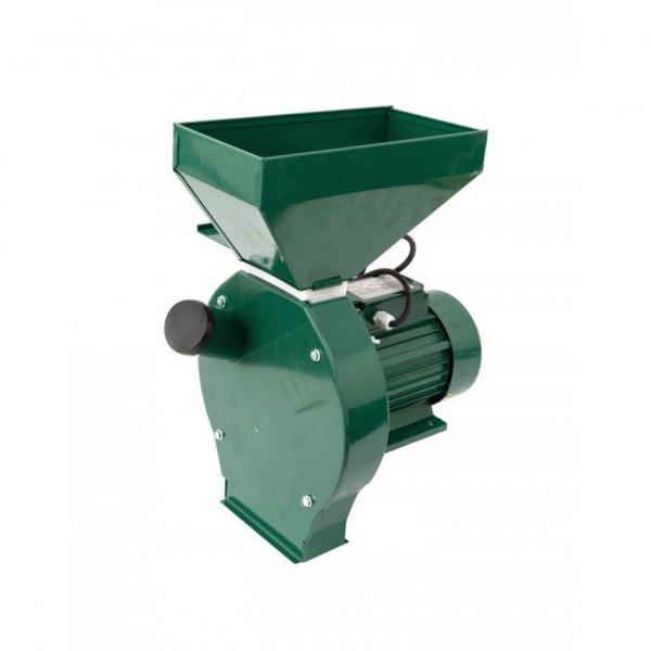 Moara Micul Meserias, 3.8 kW, 3000 rpm, cuva mare, 5.2A, 200-500 kg/h, verde 0