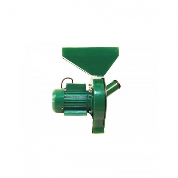 Moara Micul Meserias, 3.5 kW, 3000 rpm, 5.2A, 200-500 kg/h, verde 3
