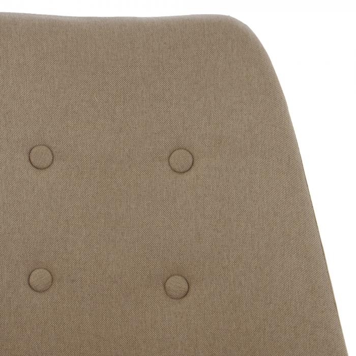 Ansamblu scaun de birou Kring Havana, material textil, bej [5]