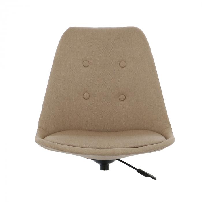 Ansamblu scaun de birou Kring Havana, material textil, bej [2]