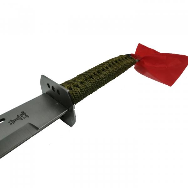 Sabie de vanatoare, Samurai Blade, maner textil, 67 cm, teaca cadou 3