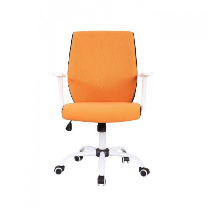 Scaun directorial US71 Micro portocaliu, elegant 2