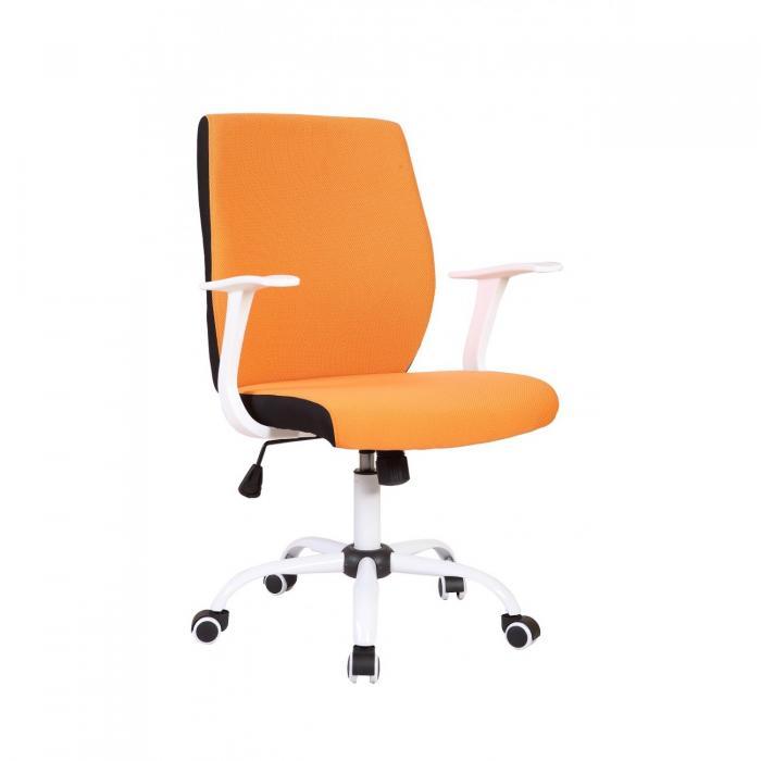 Scaun directorial US71 Micro portocaliu, elegant 0