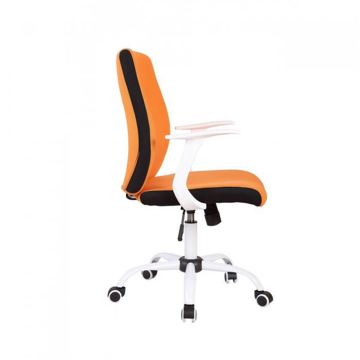 Scaun directorial US71 Micro portocaliu, elegant 3