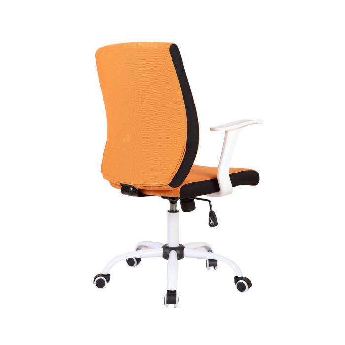 Scaun directorial US71 Micro portocaliu, elegant 1