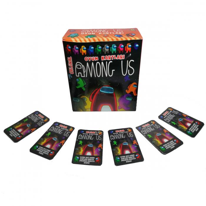 Set 150 de cartonase Among US, cartonate, multicolor 3