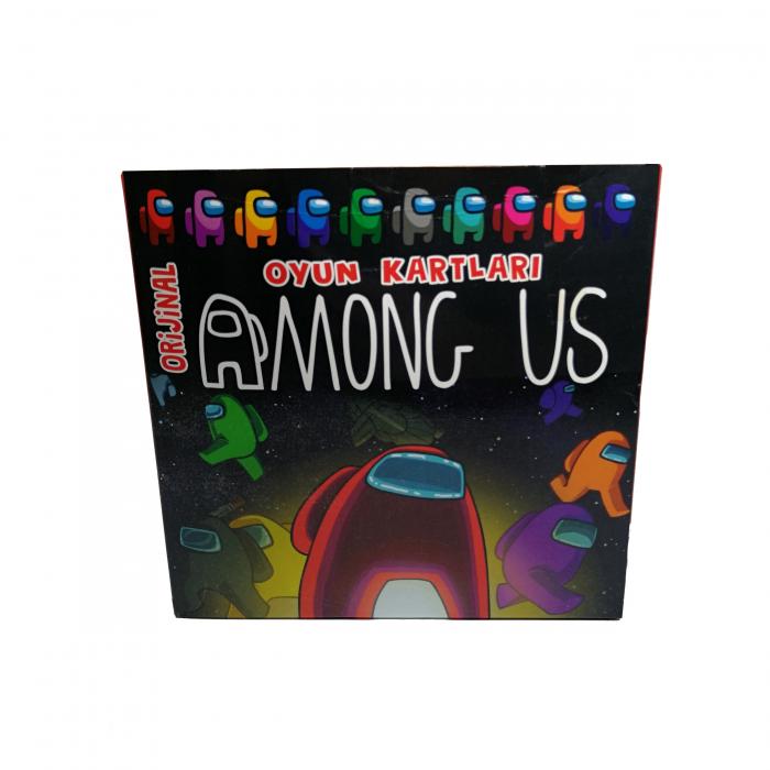 Set 150 de cartonase Among US, cartonate, multicolor 0