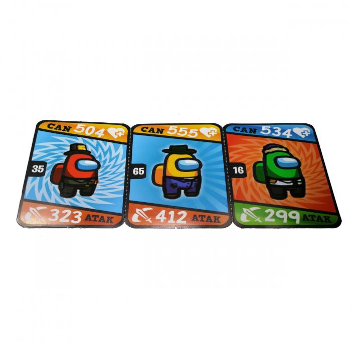 Set 150 de cartonase Among US, cartonate, multicolor 4