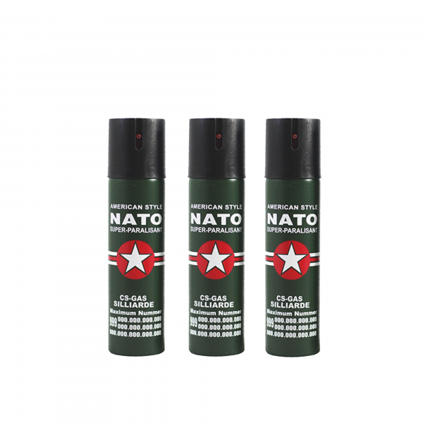 Set 3 sprayuri paralizante, NATO, 60 ml 0