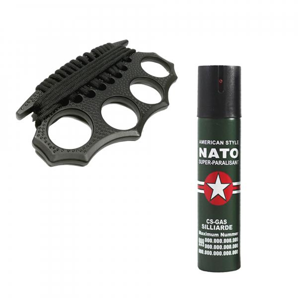 Spray NATO, cadou box model 2019 cu snur [0]