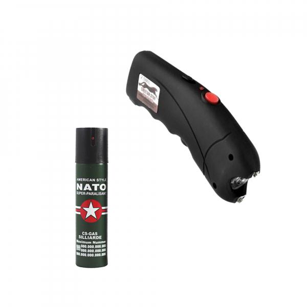 Electrosoc TW 309, 2500KV, spray paralizant, NATO, 60 ml cadou [0]