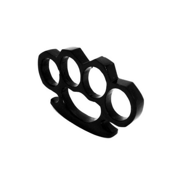 Set baston telescopic din otel, negru, 64 cm + box negru 0.5 cm grosime 5